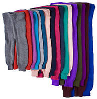 Теплые вязанные гамаши для мальчика, на рост 104 - 110 см (размер 32)