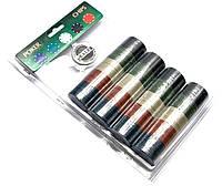 Покерные фишки (200 фишек) (18х29х4см) (вес фишки 4 гр. d-39 мм)