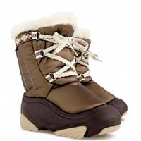 Детские зимние сапоги-дутики Demar (Демар) JOY бронза р.20--29 теплющие