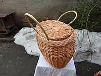 Корзина для пикника и грибов
