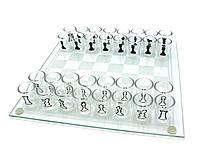 Шахматы с рюмками (086М) (25х25х5,5 см)