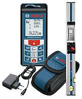 Лазерный дальномер Bosch GLM 80 + направляющая линейка R60