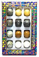 Каменные шары набор (н-р/12шт) (d-3,5 см) (27х18х3,5 см)