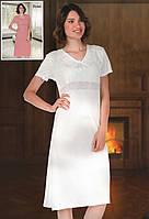Вискозная ночная сорочка больших размеров  Sabrina 16030