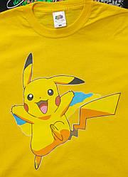 Футболка з Покемоном Пікачу, жовта