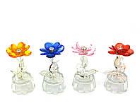 Цветок хрустальный (10х4,5х4,5 см)