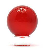 Шар хрустальный на подставке красный (5 см)