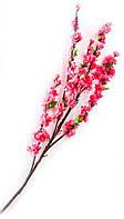 Ветка сакуры красная (125 см)