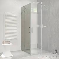 Душевые кабины, двери и шторки для ванн Liberta Душевая дверь левая Liberta Silva 800 профиль хром, стекло прозрачное