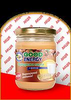 Фундуковая паста с арахисом Good Energy
