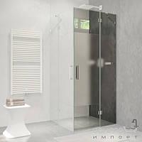 Душевые кабины, двери и шторки для ванн Liberta Душевая дверь правая Liberta Silva 800 профиль хром, стекло прозрачное
