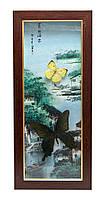 Бабочки в рамке (47х20,5х3 см)