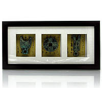 "Картина ""Древне-Китайские монеты"" (36,5х18,5х3 см)"