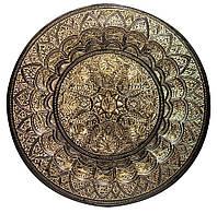 Тарелка бронзовая настенная (48,5 см)