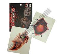 Кровавые татуировки 3D