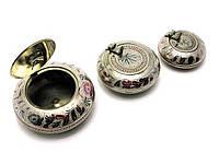 Пепельницы бронзовые набор 3 шт (d-5.5 см,d-7 см,d-8.5)
