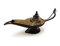 Лампа Алладина бронзовая черная (22х11х7 см)