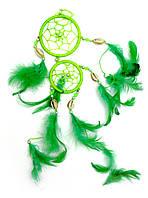 Ловец снов зеленый (d-6 см)