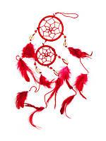 Ловец снов красный (d-6 см)