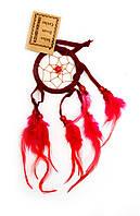Ловец снов красный (d-6,5 см)