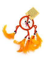 Ловец снов оранжевый (d-6,5 см)