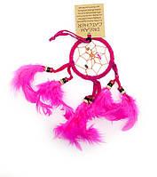 Ловец снов розовый (d-6,5 см)