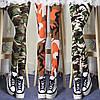 Лосины  стиль милитари камуфляжный рисунок оранжевый, фото 2