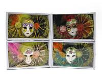 Маска карнавальная венецианская декоративная(18х11х4 см)
