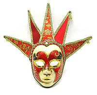 Маска карнавальная венецианская для лица (44х17х7,5 см)