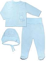 Набор: комбинезон и шапочка (Голубой)