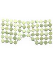 Массажер нефритовый для лица (круглые вставки) (13,5х29 см)