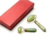 Массажеры нефритовые валики (2 шт в коробке) (16х7х4 см)