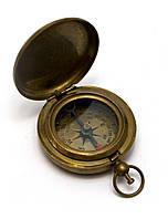 Компас карманный антик бронза (6,5х5х1,5 см)