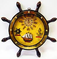 Часы штурвал (38CM)
