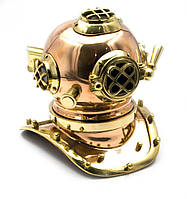 Шлем аквалангиста бронзовый (19,5х16х18 см)