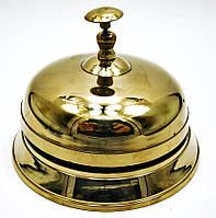 Колокольчик портье бронзовый (Ø-15см., h-10,5см.)