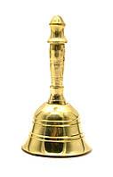 Колокольчик с ручкой бронза (d-4,h-7,5 см)