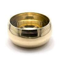Чаша поющая бронзовая (без резонатора) (d-17,5 h-9,5 см)