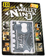 """Мультитул """"Кредитка"""", Wallet Ninja (18в1) (8,5х5,5 см)"""