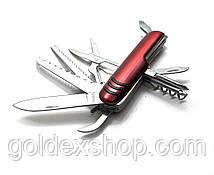 Нож складной с набором инструментов (11 в 1)