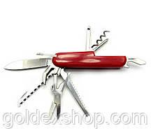 Нож складной с набором инструментов (13 в 1) (9 см)