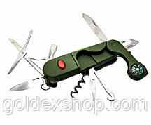 Нож складной с набором инструментов (14 в 1) (9,5 см)