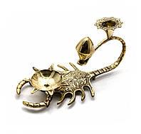 "Подсвечник ""Скорпион"" бронзовый (15,5х9х7,5 см)"