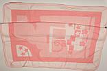 Одеяло плед для новорожденного розовый  на флисе Турция., фото 6