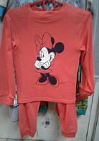 Байковая детская пижама Микки Маус