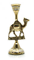 "Подсвечник бронзовый с перламутром ""Верблюд"" (15,5х7,5х5,2 см)"