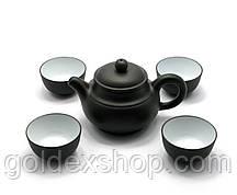 Сервиз чайный  глиняный (17х18х9,5 см)