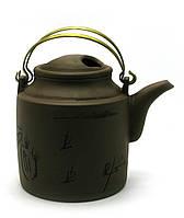 Чайник глиняный (700 мл) (15х13х10,5 см)