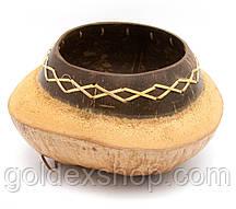 Блюдо из кокоса (d-20 h-10 см)