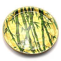 Тарелка бамбуковая круглая (d-26 см)